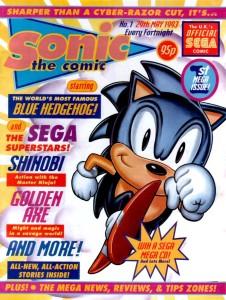 Fleetway Edition's original Sonic the Comic