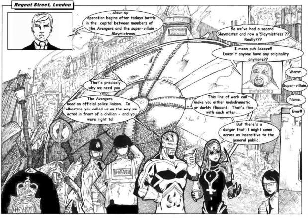 Avengers  UK Volume 2 Issue 1 - Fan Project - Page 2