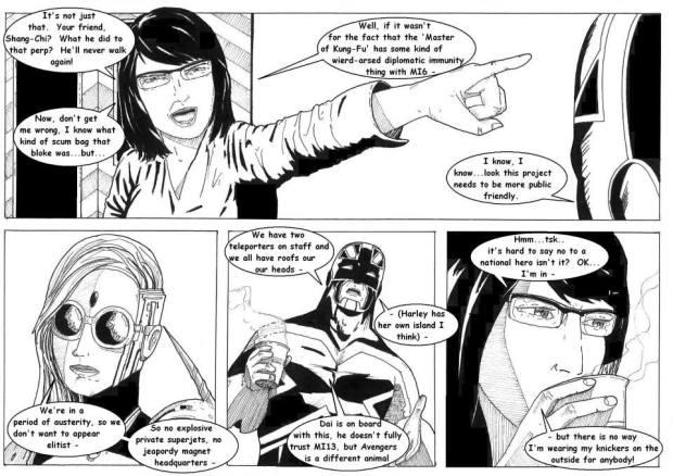 Avengers  UK Volume 2 Issue 1 - Fan Project - Page 3