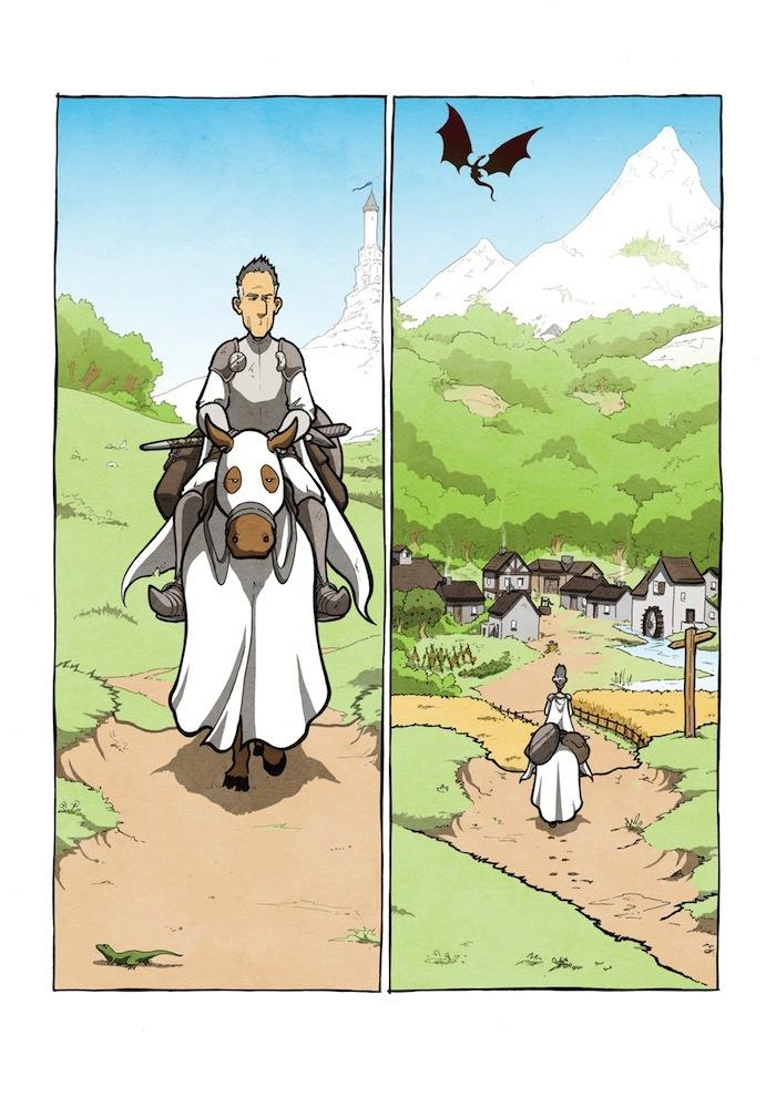 Knight & Dragon Page 1