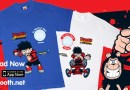 "Dennis the Menace joins T-Shirt Booth ""Digital Giving"" project"