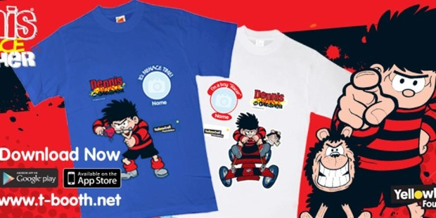 T-Shirt Booth - Dennis the Menace Shirts