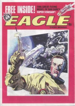 A 1970s dummy for a proposed new Eagle featuring art by Frank Bellamy.