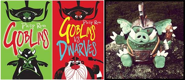 "Philip Reeve ""Goblins"" books"