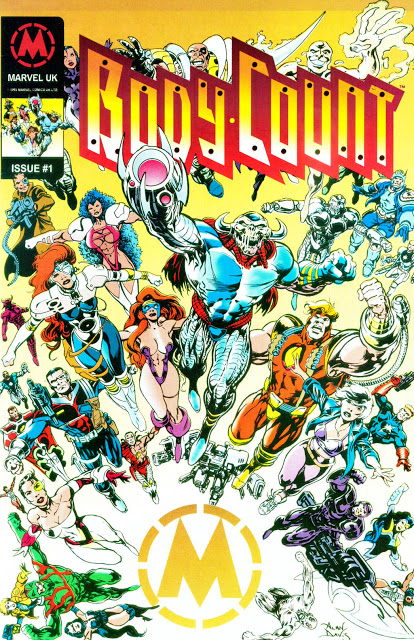 BodyCount Marvel UK Promotional Book