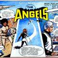 """The Angels"" drawn by Jon Davis for Lady Penelope comic in the 1960s"