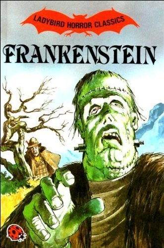 Ladybird's edition of Frankenstein, art by Jon