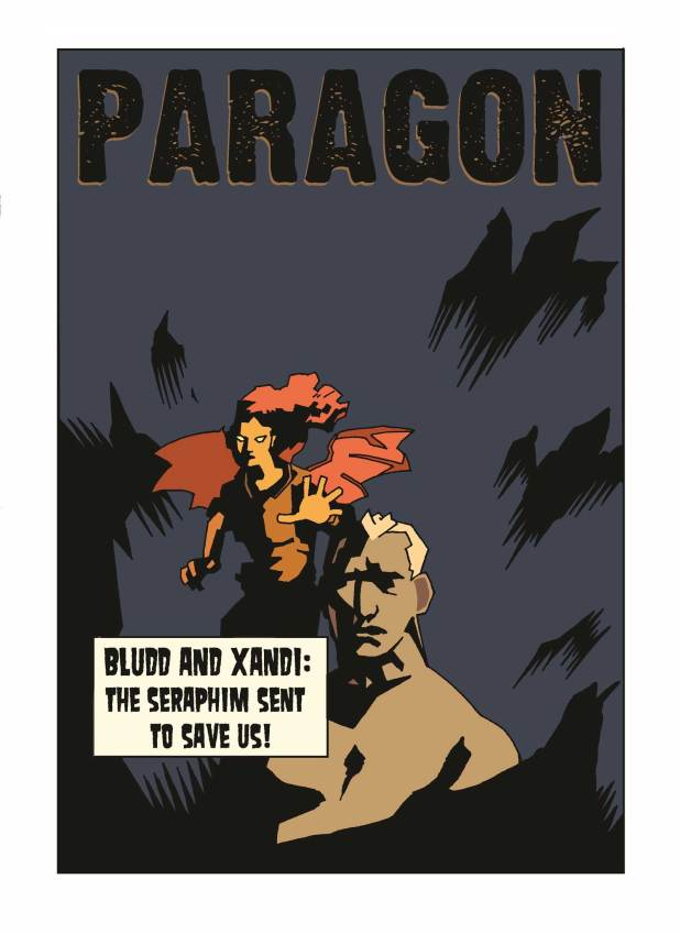Paragon Issue 15 - Cover