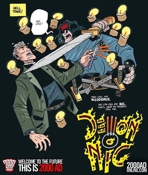 2000AD 2014: Demon Nic