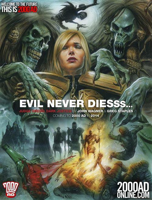 2000AD 2014: Evil Never Dies