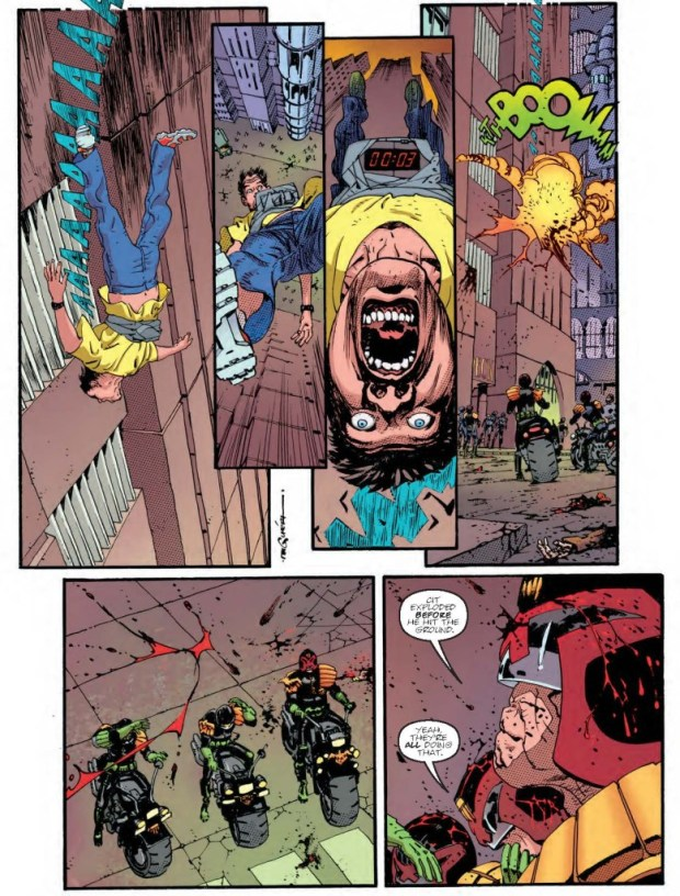 Judge Dredd: The Man Comes Around Page 2 - Judge Dredd Megazine Issue 344