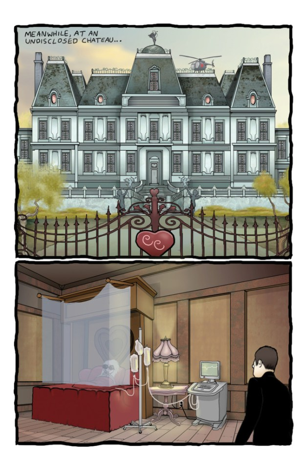 Lenore Issue 9 Preview Page