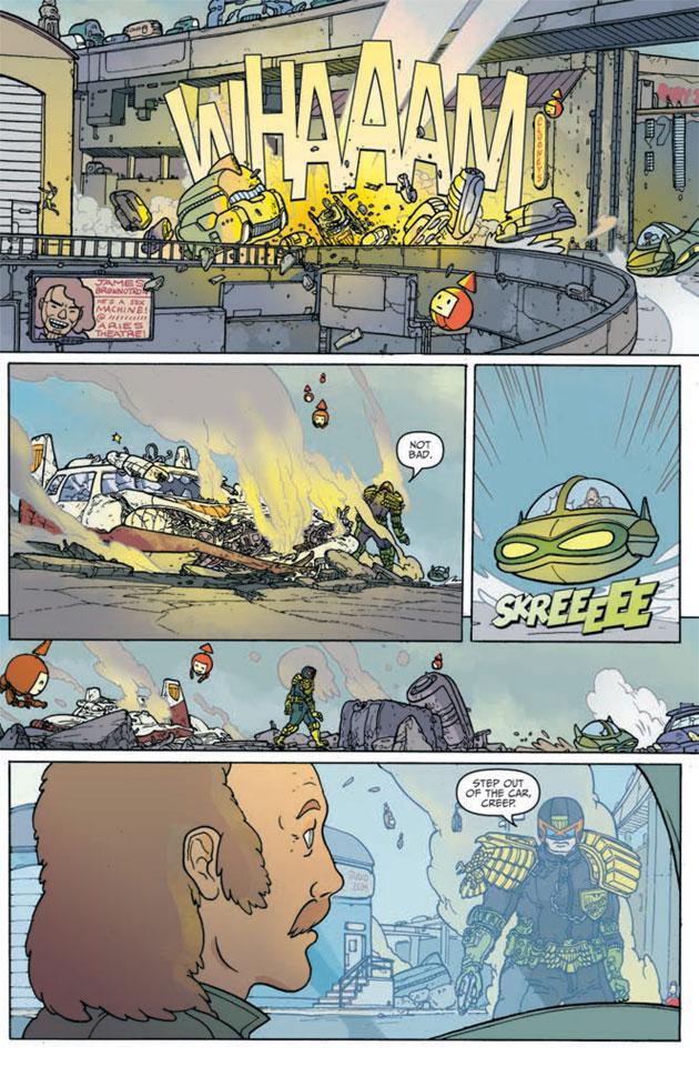 Judge Dredd Mega-City Two Sample 06