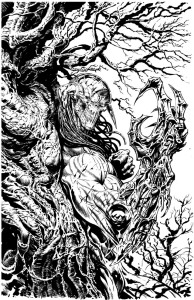 Revolutionary War Issue 4 - Varinat Cover by Liam Sharp (Inks)