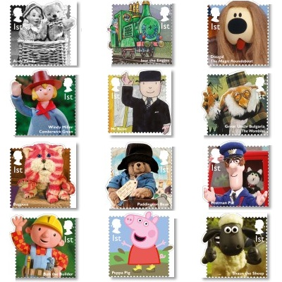 """Royal Mail """"60 Years of Children's TV"""" Stamps - 2014"""