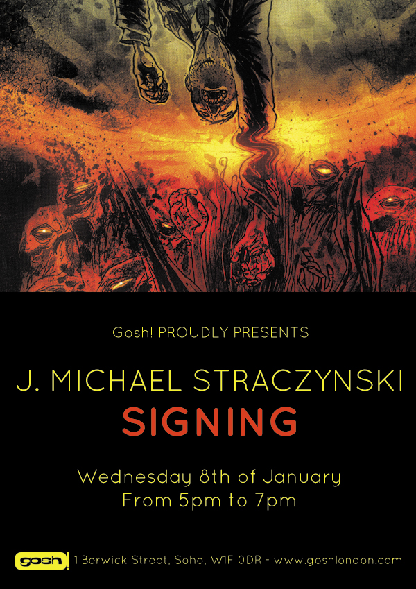 J. Michael Straczynski at GOSH - 8th January 2014