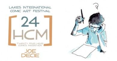 LICAF 24 Hour Marathon 2014 - Joe Decie