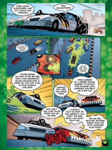 Ben 10 Issue 1 - Digital Edition - Strip Sample