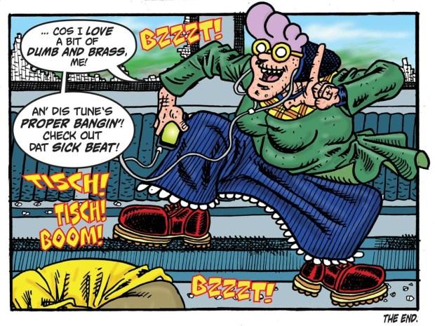 Psycho: Gran - Dumb and Brass