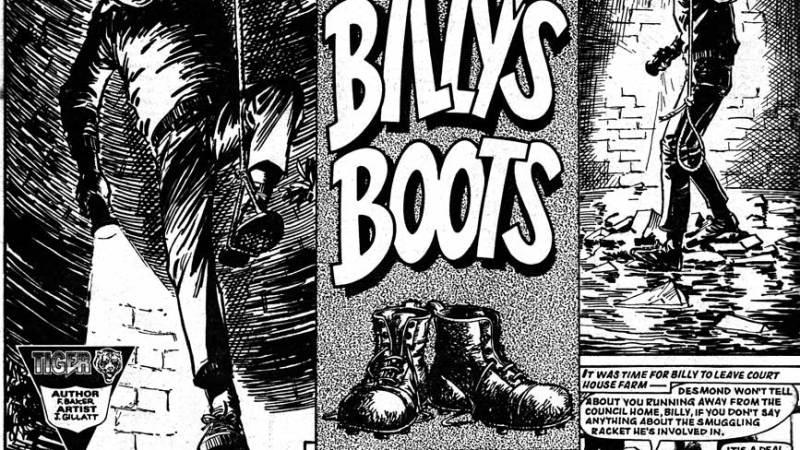 "In Memoriam: ""Billy's Boots"" and ""Jet-Ace Logan"" Comic Artist John Gillatt"