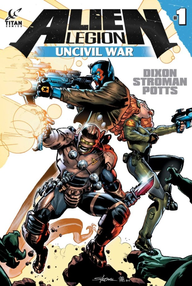 Alien Legion Uncivil War #1 Cover