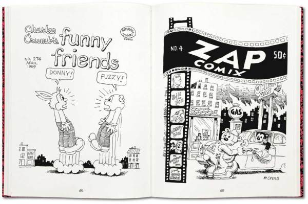 Robert Crumb Complete Sketch Book Sample Spread