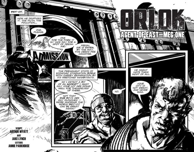 2000AD Scii-Fi Special 2014 - Orlok the Assassin