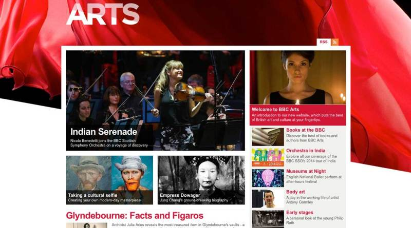 BBC Arts Online -16th May 2014