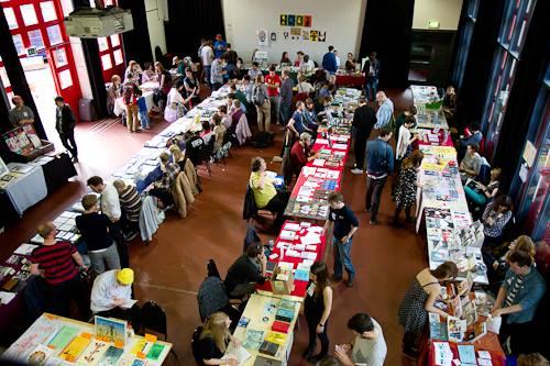 Bristol Comic and Zine Fair 2013. Image: BCAF