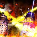 Daleks versus Rock Snakes by and © Tony Luke