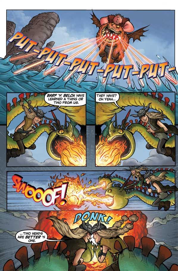 Dragons: Riders of Berk Volume 1 - Sample Page 2