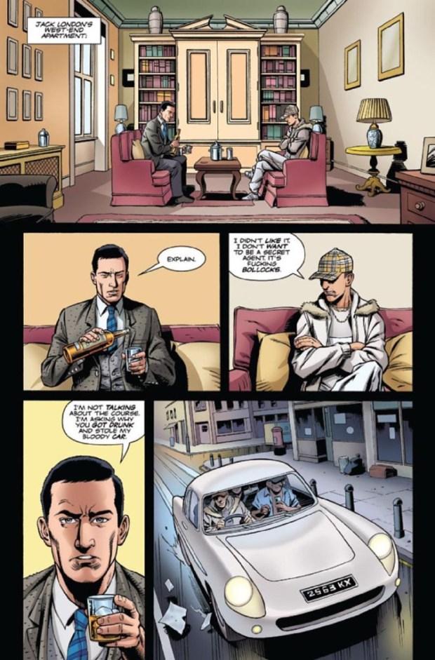 The Secret Service - Sample Page 1