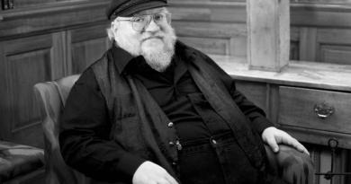 Author George RR Martin. Photo: Karolina Webb