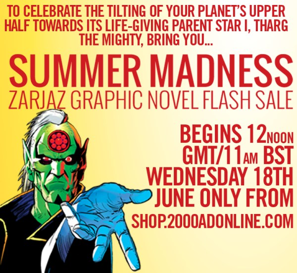 2000AD 2014 Graphic Novel Flash Sale Banner