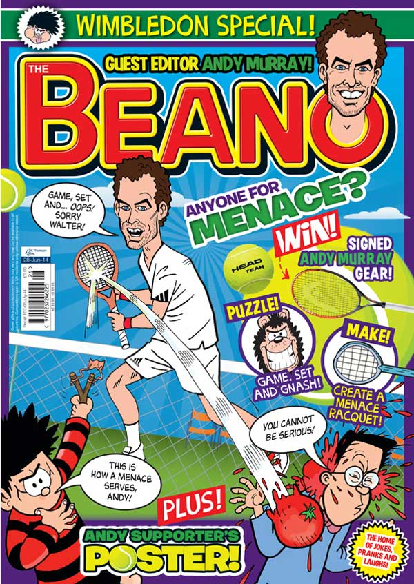 The Beano, 25th June 2014 - Cover