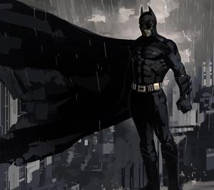 Concept art for Batman by Dermot Power
