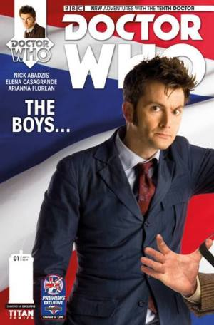 Doctor Who #1 - Tenth Doctor: Photo Variant