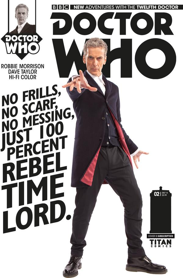 Doctor Who: Twelfth Doctor #1 Cover B