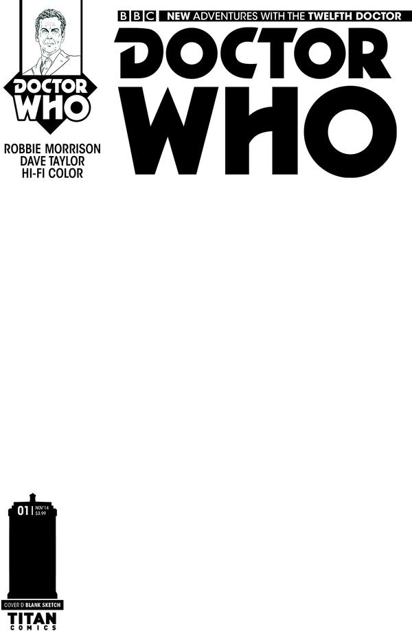Doctor Who: Twelfth Doctor #1 Cover C