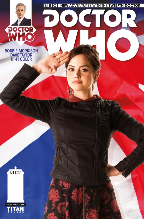 Doctor Who: Twelfth Doctor #1 Cover E