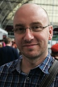 British comics writer Rob Williams. Photo by Joel Meadows