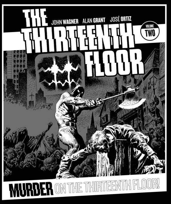 The Thirteenth Floor Volume 2 - Cover