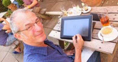 Comic creator Dave Gibbons