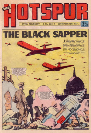 The Black Sapper - Hotspur 622