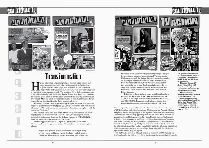 Countdown to TV Action - Sample Spread - Page 86