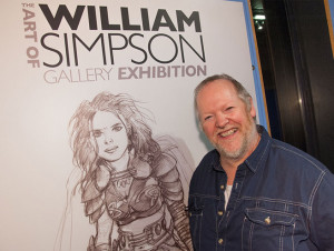 Will Simpson at the W5, Belfast, in 2013. Photo: W5 Centre