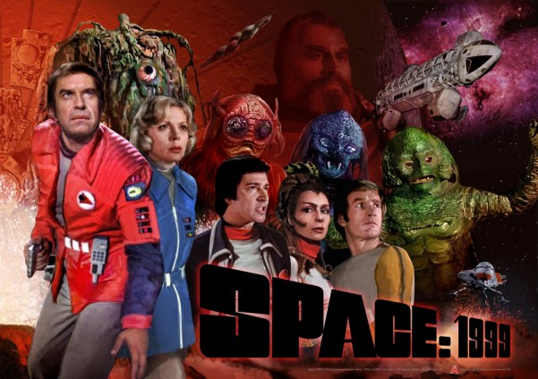 Space 1999 Season Two Poster. Image courtesy Anderson Entertainment