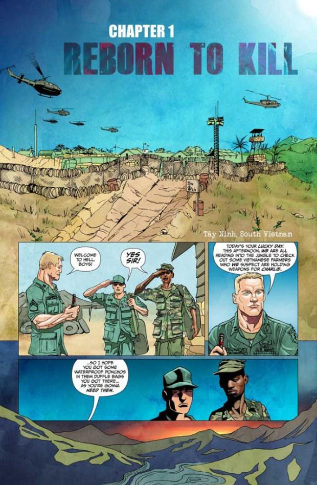 Vampire Zombie Holocaust #1 Page 4