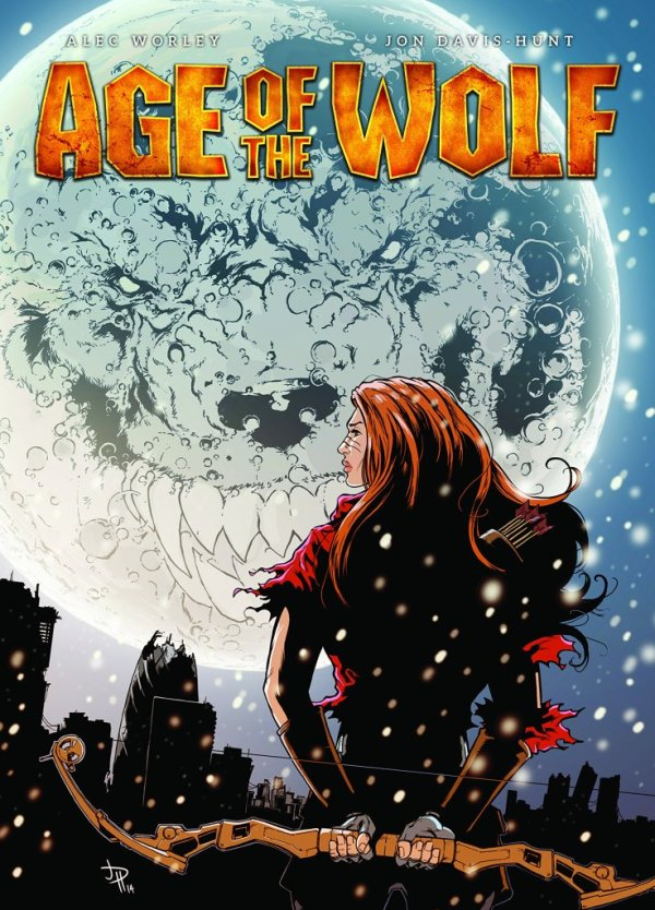 Age of the Wolf Graphic Novel - Cover