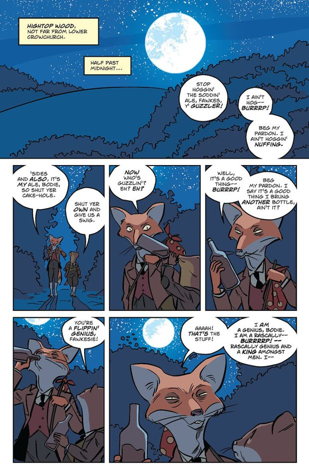Wild's End #1 Sample Page 3